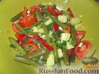 Фото к рецепту: Салат со стручковой фасолью