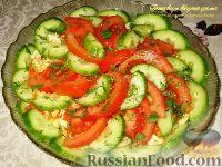 Фото к рецепту: Овощной салат с морковью по-корейски