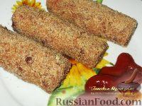 Фото к рецепту: Зразы из фасоли и капусты