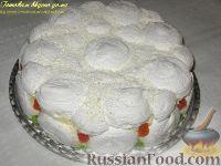 Фото к рецепту: Зефирный торт
