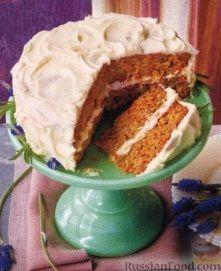 Рецепт Морковный торт с масляным кремом