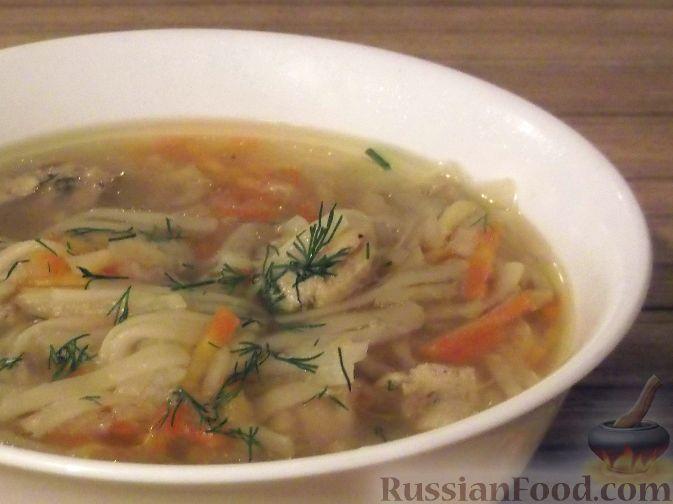 Рецепт Суп из мяса курицы с сельдереем и пряностями