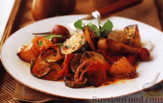 Рецепт Овощное рагу, запеченное в духовке