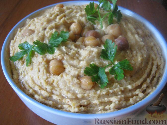 Рецепт Хумус по-домашнему