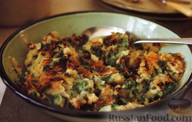 Рецепт Картофельное пюре с хрустящей корочкой