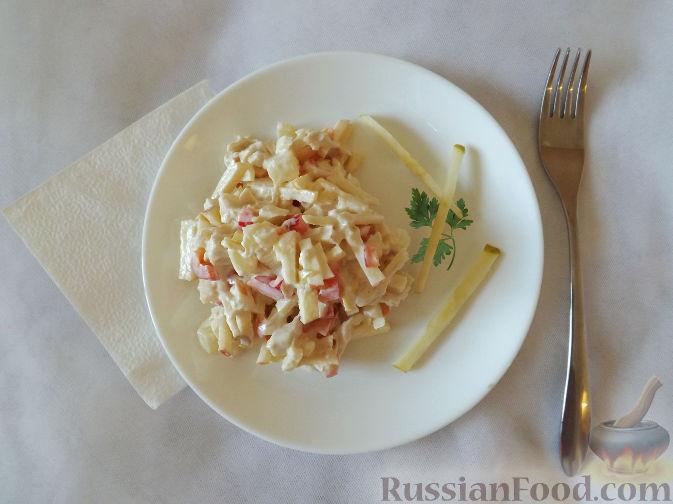 Фото приготовления рецепта: Макароны с соусом из сладкого перца - шаг №10