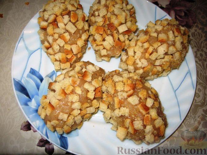 котлеты с сухариками рецепт по шагово