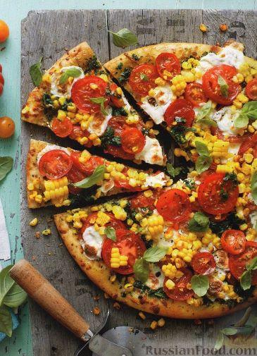 Пицца рецепты с кукурузой