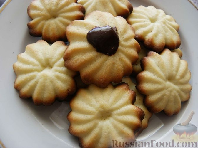 печенье песочное рецепт как в детстве