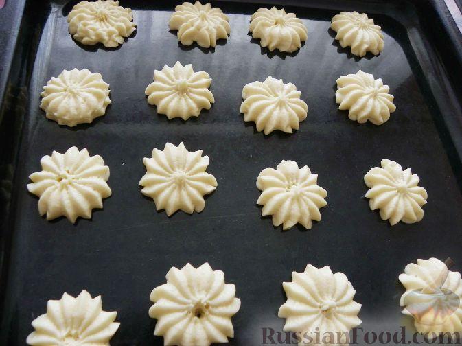 рецепт песочного печенья из кондитерского мешка