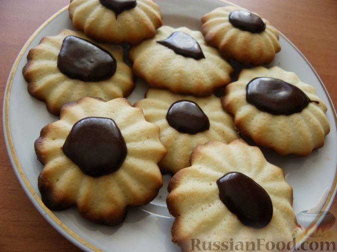 Рецепты песочно сливочного печенья фото