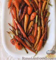 Фото к рецепту: Запеченная морковь