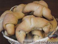 Фото к рецепту: Рогалики «Нежные»