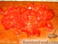 Фото приготовления рецепта: Суп из чечевицы с копченостями - шаг №4