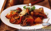Фото к рецепту: Овощное рагу, запеченное в духовке