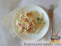 """Фото приготовления рецепта: Салат """"Наслаждение"""" - шаг №7"""