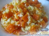 Фото к рецепту: Каша рисовая с тыквой в мультиварке
