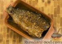 Фото к рецепту: Карп, запеченный с медом