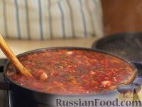 Фото приготовления рецепта: Борщ украинский - шаг №12