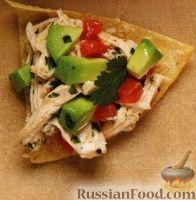 Фото к рецепту: Куриный салат закусочный