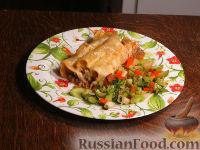 Фото к рецепту: Каннеллони с мясным фаршем
