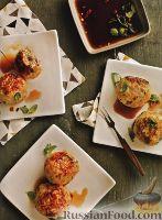 Фото к рецепту: Куриные тефтели с острым соусом