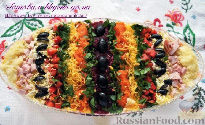 """Рецепт Салат """"Пасхальное яйцо"""""""