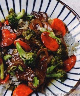 Рецепт Говядина с брокколи