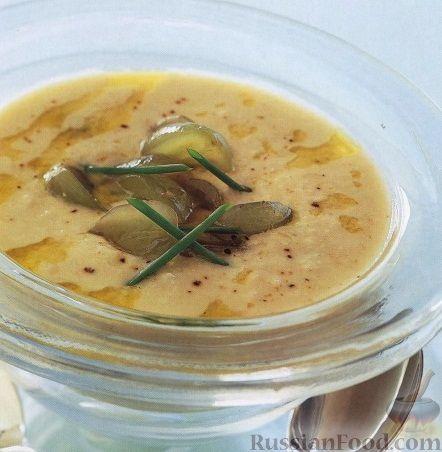 Рецепт Холодный ореховый суп-пюре