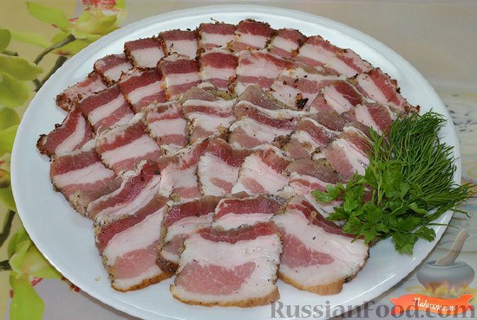 Рецепт Соленое сало