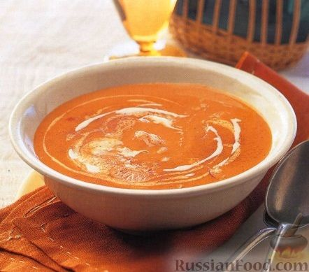Рецепт Суп-пюре с лобстером и рисом