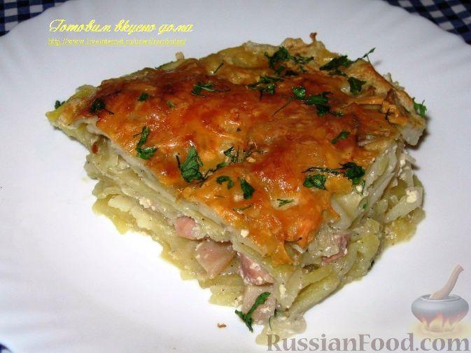 Рецепт Шинк-лода (картофельная запеканка)