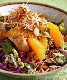 Рецепт Азиатский куриный салат