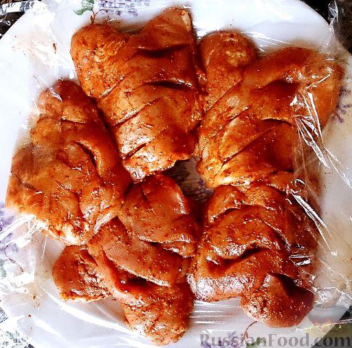 Курица запеченная в духовке простыеы