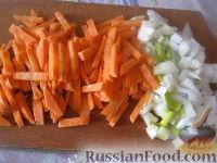 Фото приготовления рецепта: Фасоль тушеная с грибами - шаг №2