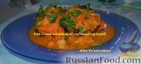 Фото к рецепту: Тушеная рыбка с морковью и луком