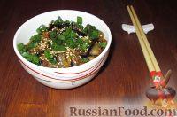Фото к рецепту: Баклажаны остро-сладкие по-китайски
