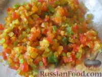 Рецепт: Пасхальный кулич с цукатами и изюмом на
