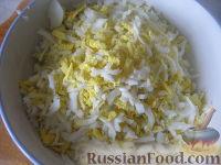 """Фото приготовления рецепта: Салат из курицы с черносливом """"Дамский каприз"""" - шаг №3"""