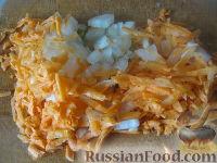 Фото приготовления рецепта: Минтай с овощами в томатном соусе - шаг №7