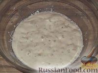 Фото приготовления рецепта: Постное дрожжевое тесто (безопарный способ) - шаг №5