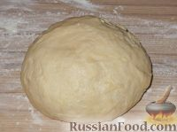 Фото приготовления рецепта: Постное дрожжевое тесто (безопарный способ) - шаг №10