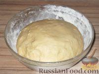 Фото приготовления рецепта: Постное дрожжевое тесто (безопарный способ) - шаг №13