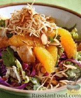 Фото к рецепту: Азиатский куриный салат