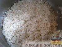Фото приготовления рецепта: Каша рисовая с тыквой на молоке (в мультиварке) - шаг №5