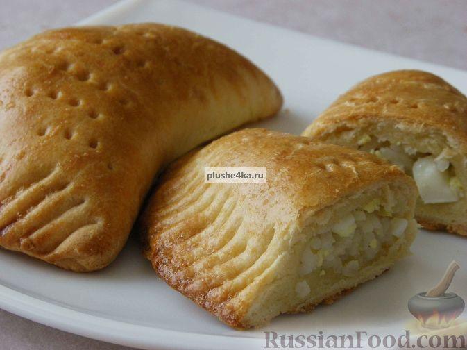 Рецепт Пирожки с рисом и яйцами