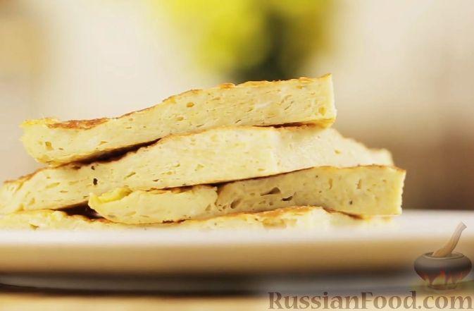 Рецепт Омлет с картофельными чипсами
