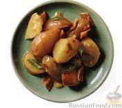 Рецепт Картофель с луком и беконом