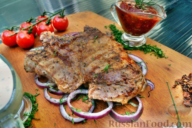 Рецепт Свинина (шашлык) в луковом маринаде
