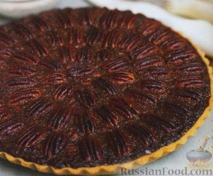 Рецепт Песочный пирог с орехами